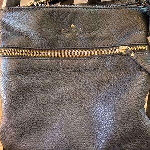 Kate Spade Black Pebbled Leather Crossbody